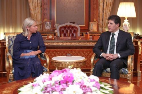 سهرۆكى ههرێمى كوردستان لهگهڵ نوێنهرى تايبهتى سكرتێرى گشتيى UN كۆبووهوه